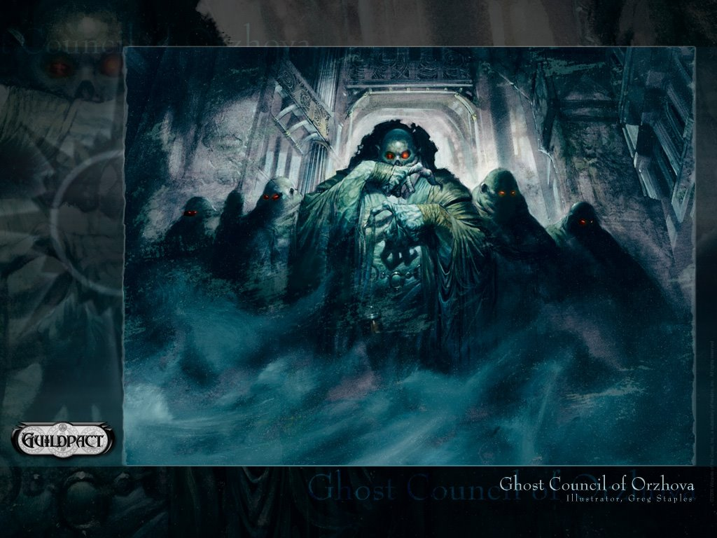 Fantasy Wallpaper: Magic the Gathering - Ghost Council of Orzhova