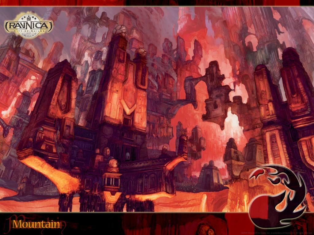 Fantasy Wallpaper: Magic the Gathering - Mountain