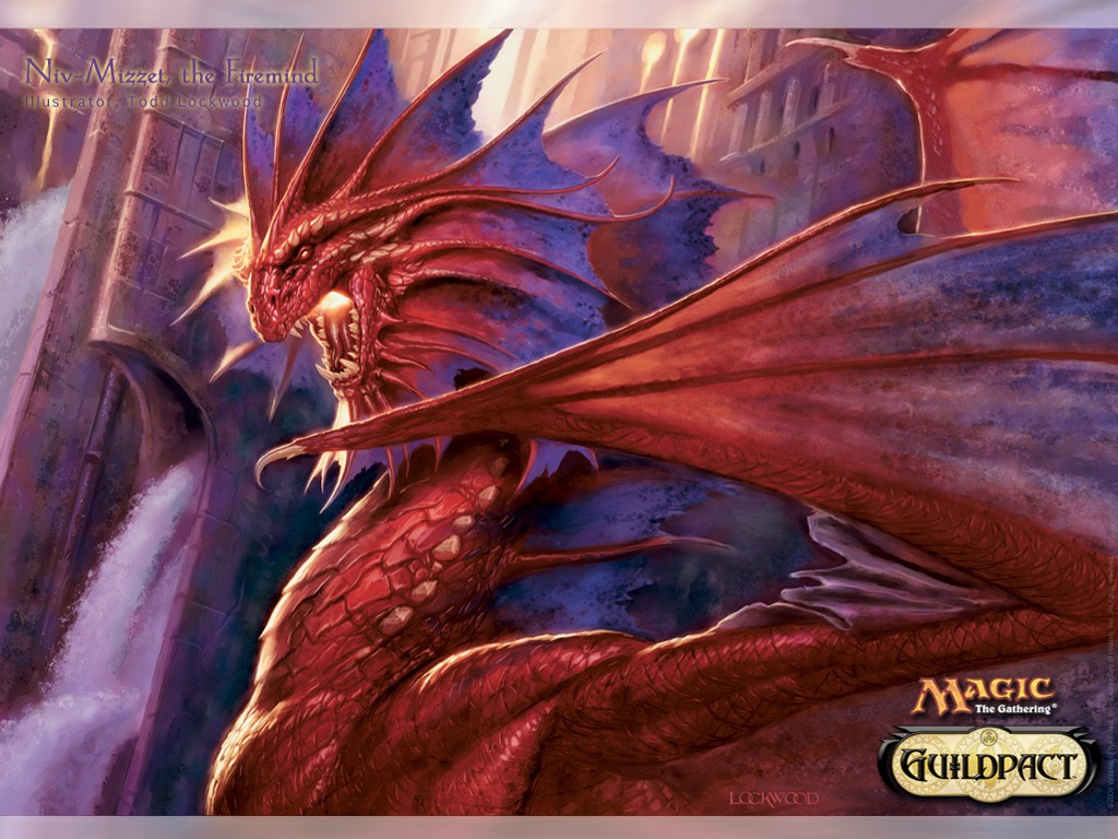 Fantasy Wallpaper: Magic the Gathering - Niv-Mizzet