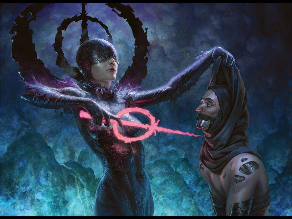 Fantasy Wallpaper: Phyrexians - Blind Zealot