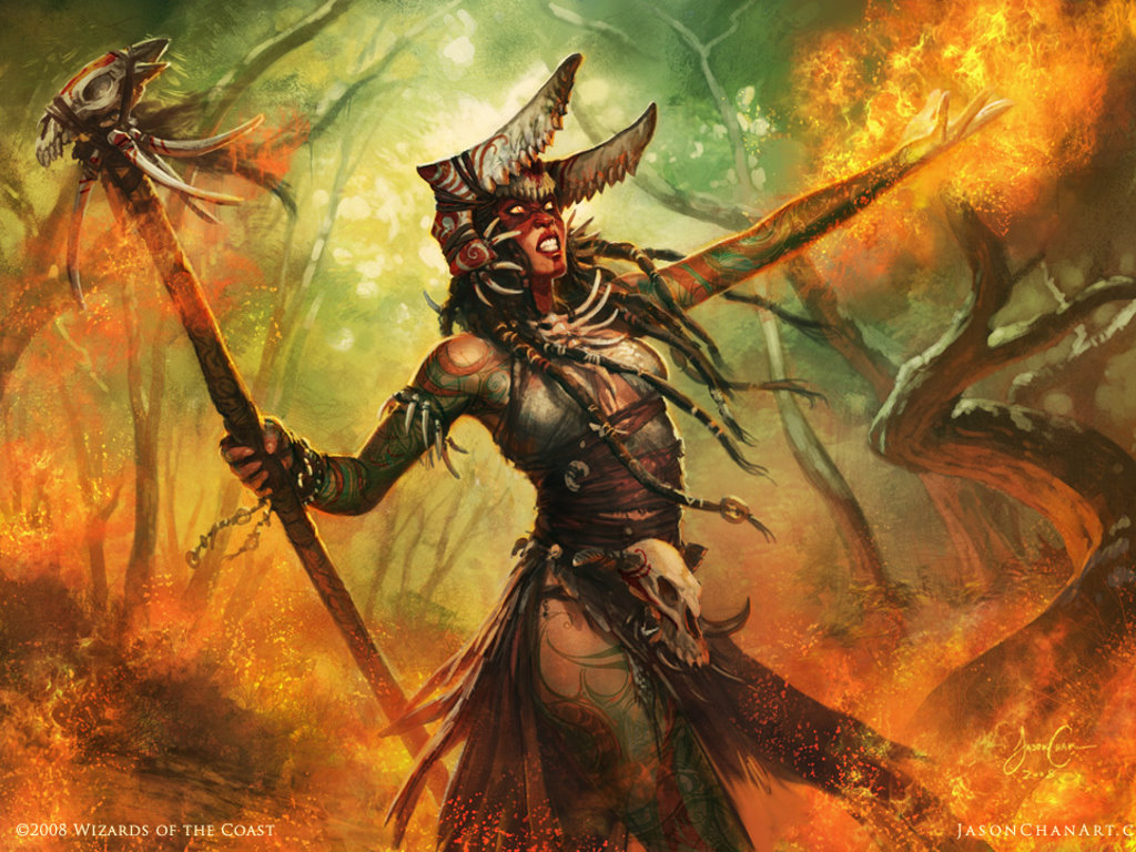 Fantasy Wallpaper: Magic the Gathering - Rakka Mar
