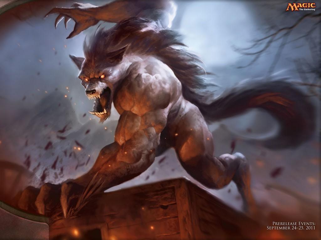 Fantasy Wallpaper: Magic the Gathering - Terror of Kruin Pass