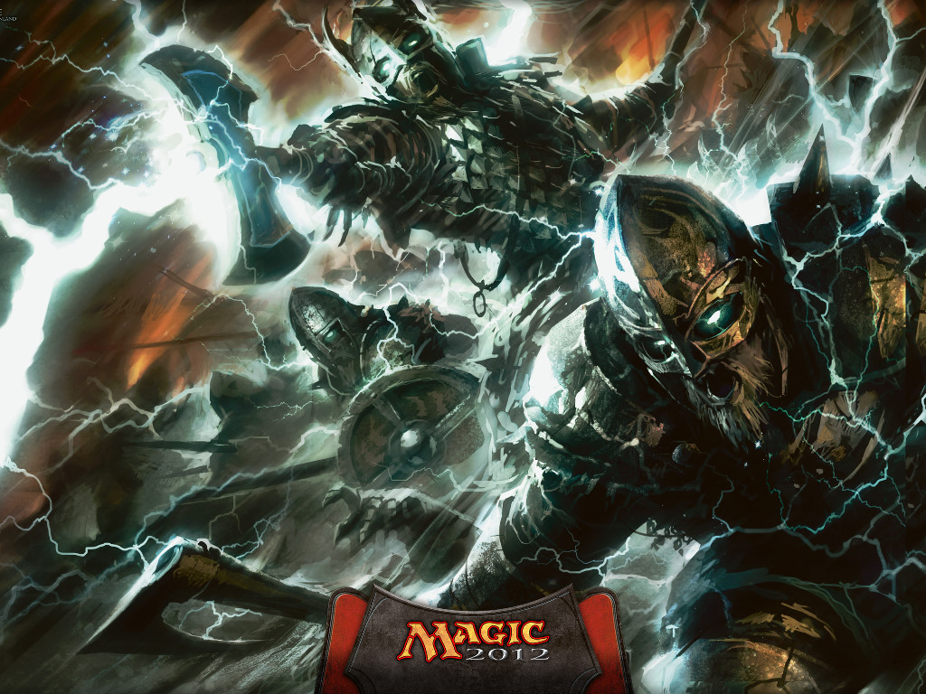 Fantasy Wallpaper: Magic the Gathering - Warstorm Surge