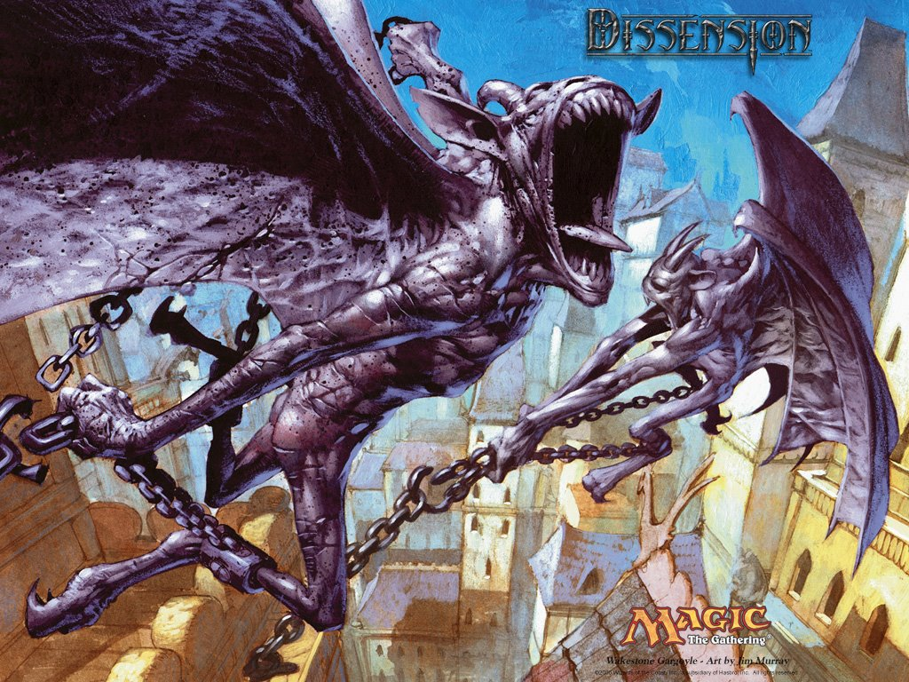 Fantasy Wallpaper: Magic The Gathering - Wakestone Gargoyle