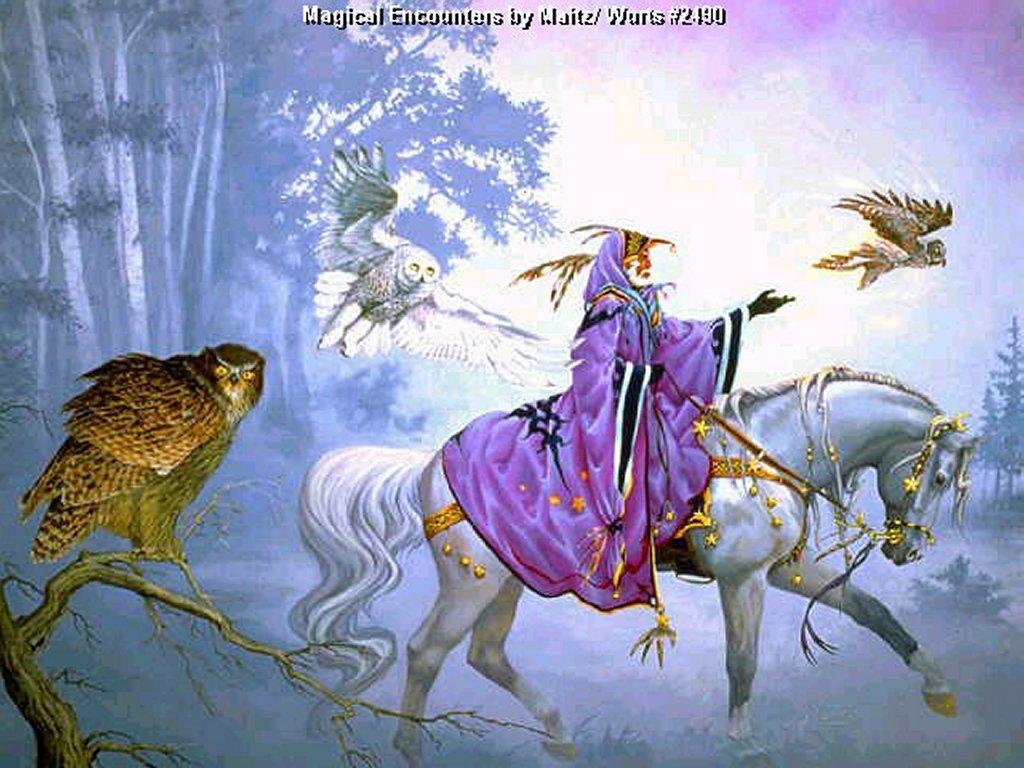 Fantasy Wallpaper: Magical Encounters