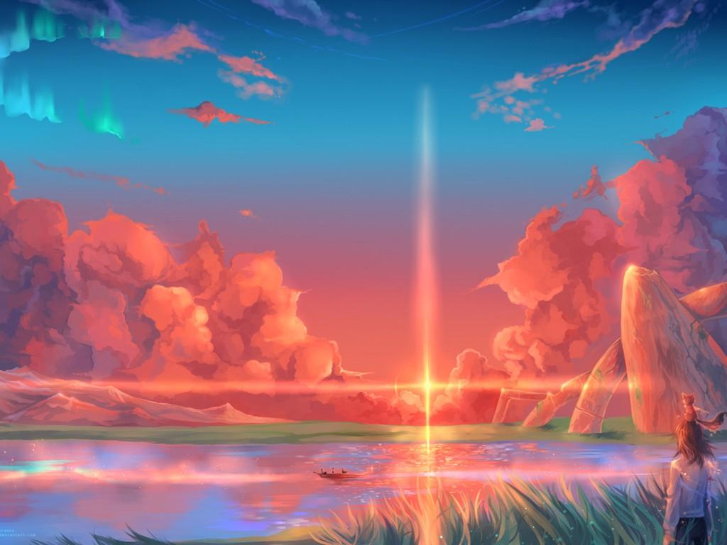 Fantasy Wallpaper: Magical Lake