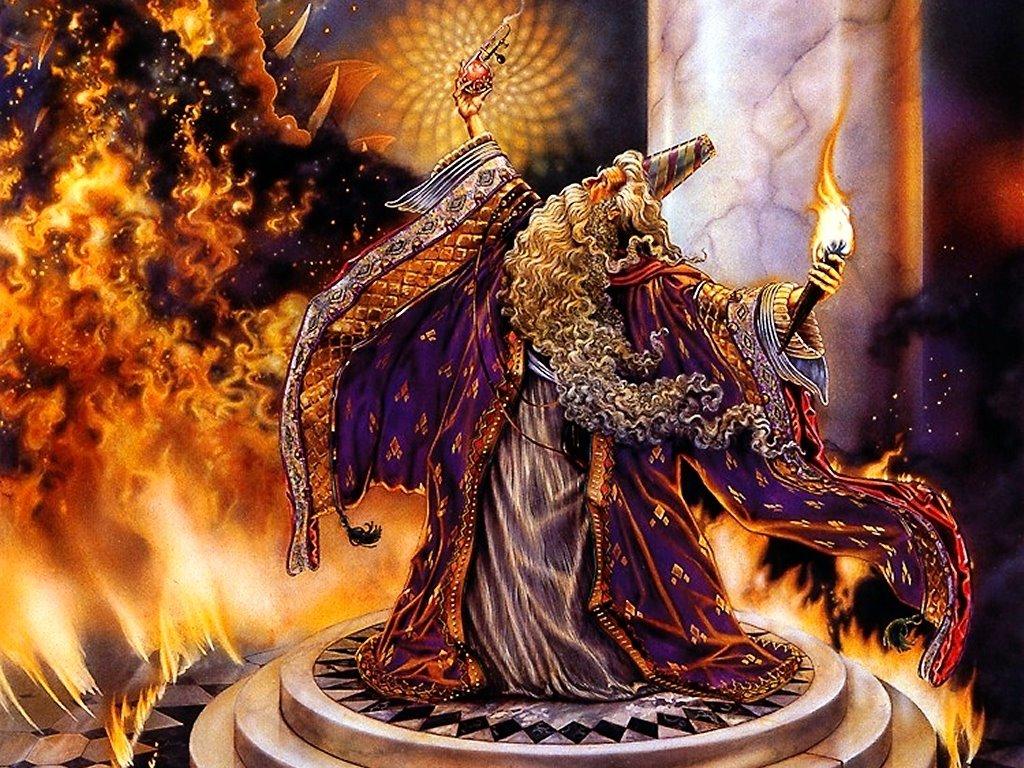 Fantasy Wallpaper: Magician