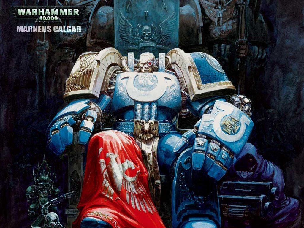 Fantasy Wallpaper: Warhammer 40K - Marneus Calgar