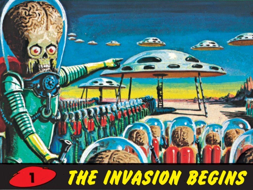 Fantasy Wallpaper: Mars Attacks!