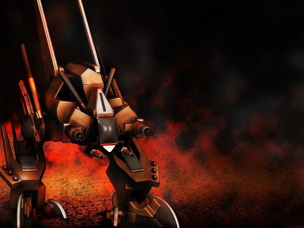 Fantasy Wallpaper: Mars Robot