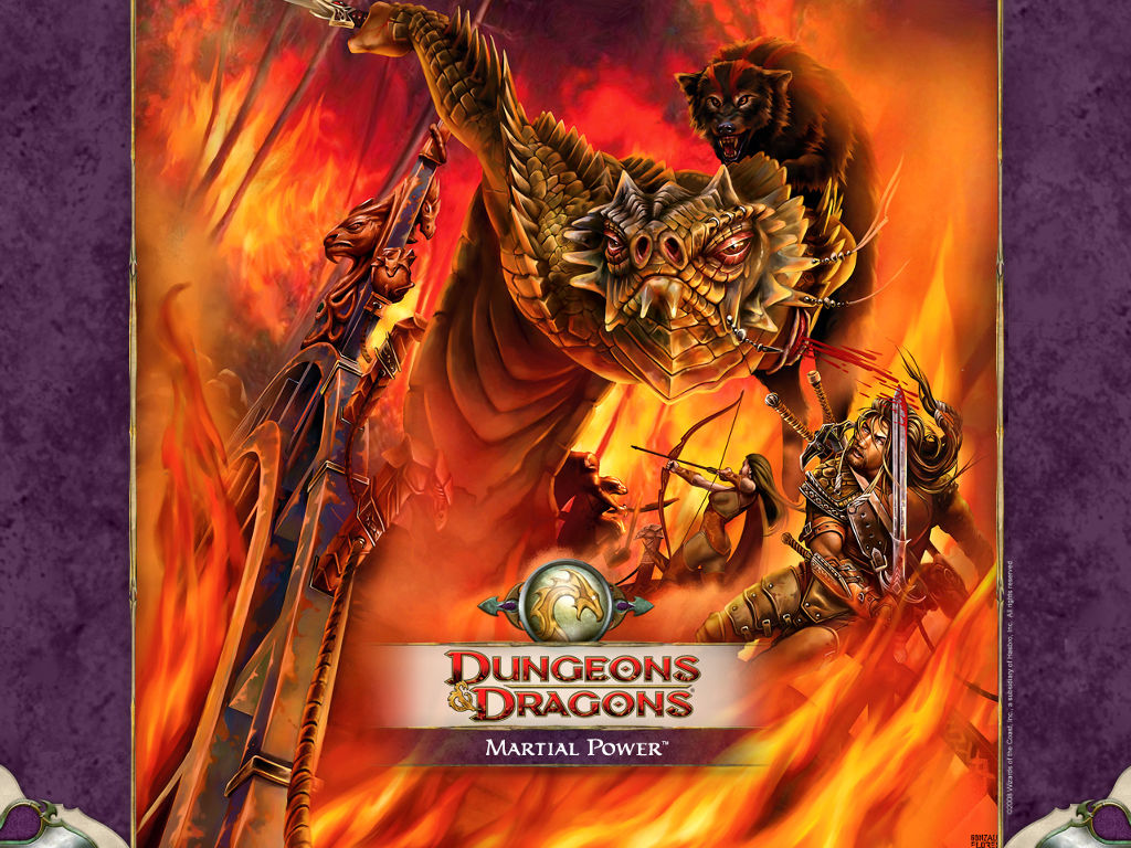 Fantasy Wallpaper: Dungeons and Dragons - Martial Power