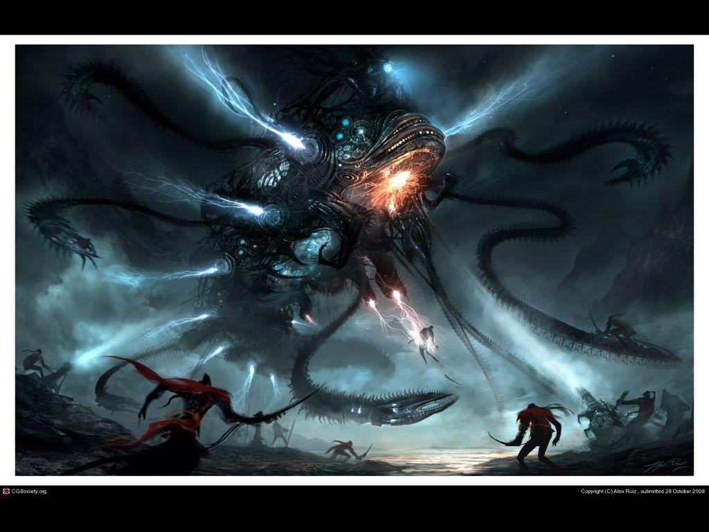 Fantasy Wallpaper: Mecha - Behemoth