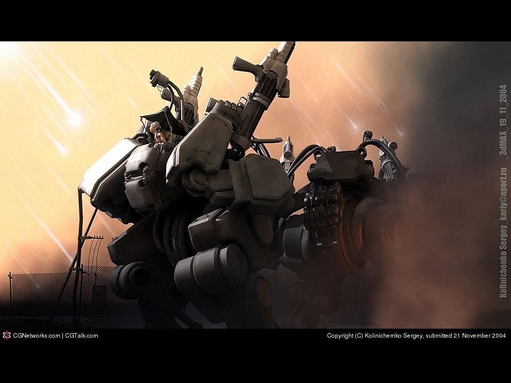 Fantasy Wallpaper: Mechanoids