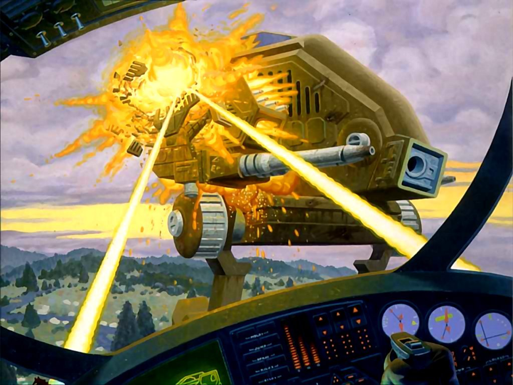 Fantasy Wallpaper: MechWarrior - 2nd Edition Cover