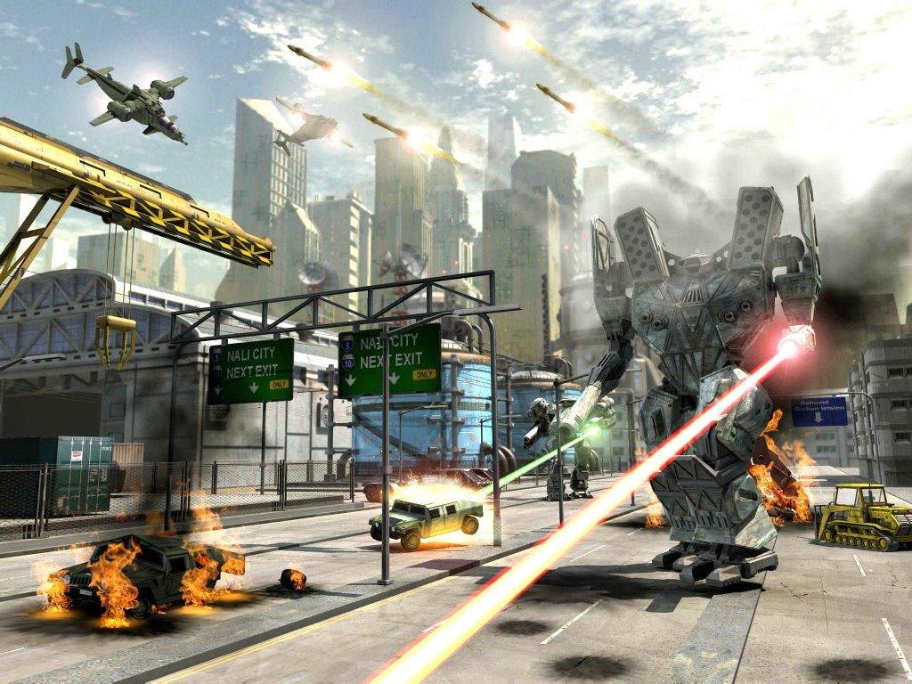 Fantasy Wallpaper: MechWarrior - Future Wars