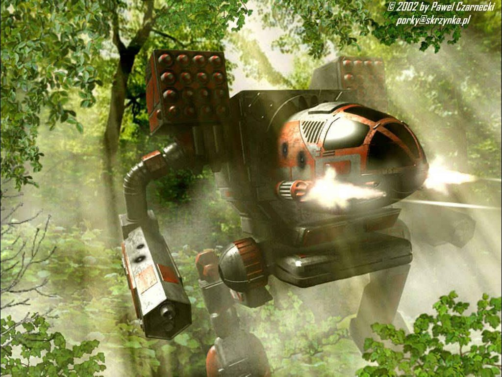 Fantasy Wallpaper: MechWarrior - Future Wars