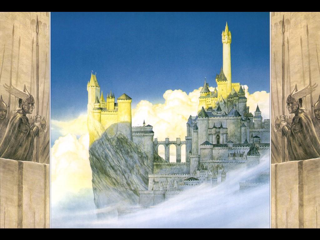 Fantasy Wallpaper: Lord of the Rings - Minas Tirith