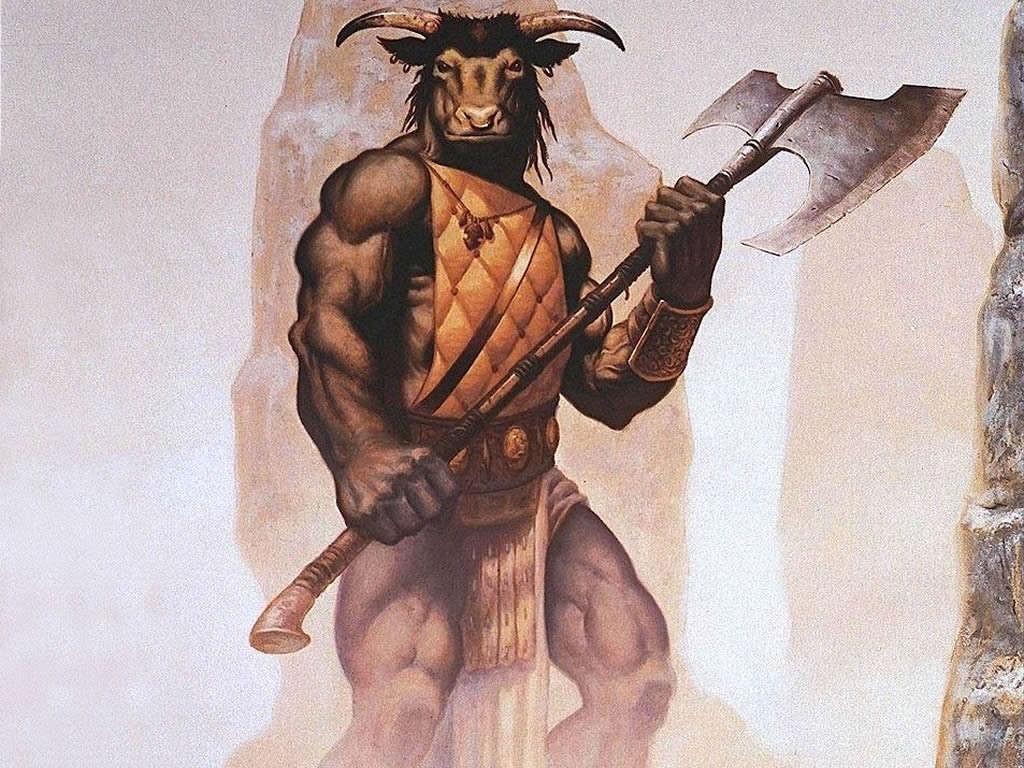Fantasy Wallpaper: Minotaur