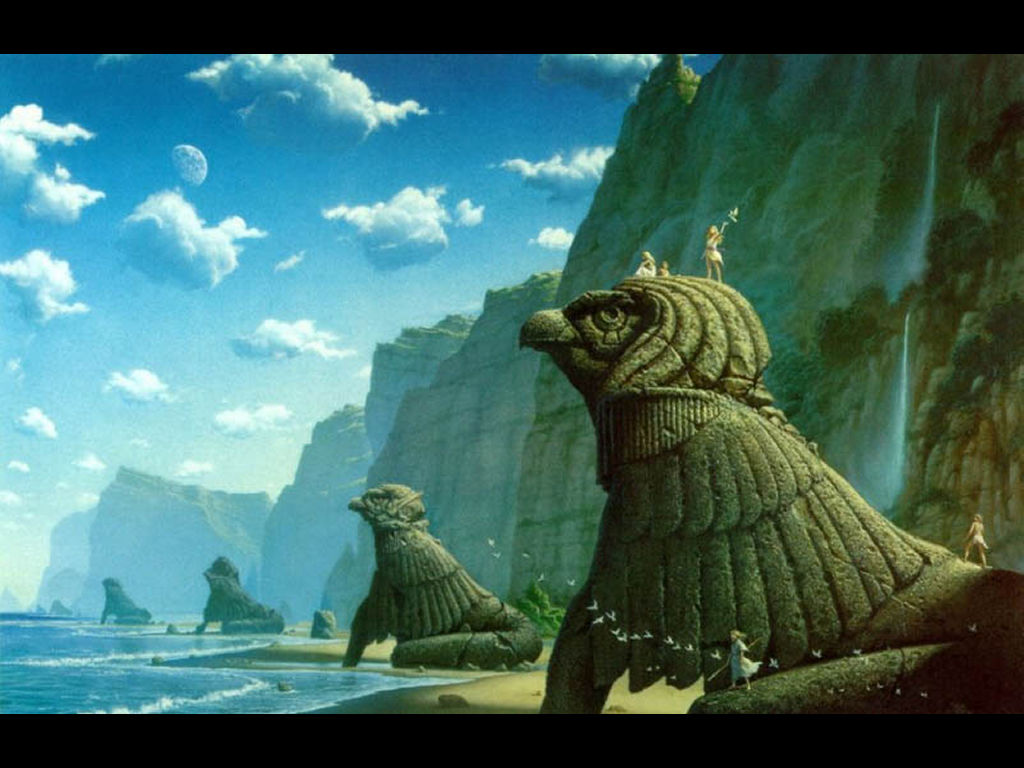 Fantasy Wallpaper: Mistery Island
