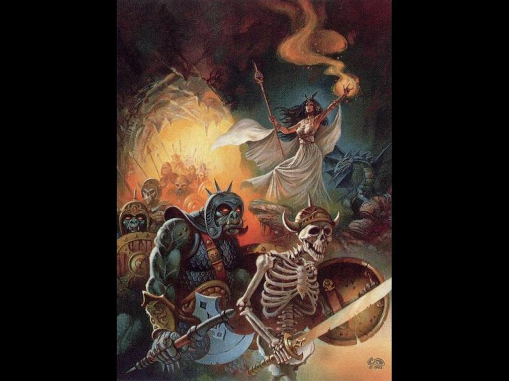 Fantasy Wallpaper: Mistress of Dead