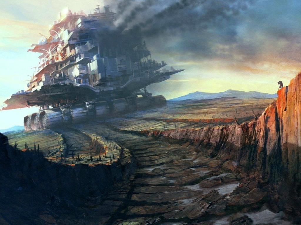 Fantasy Wallpaper: Mobile Metropolis
