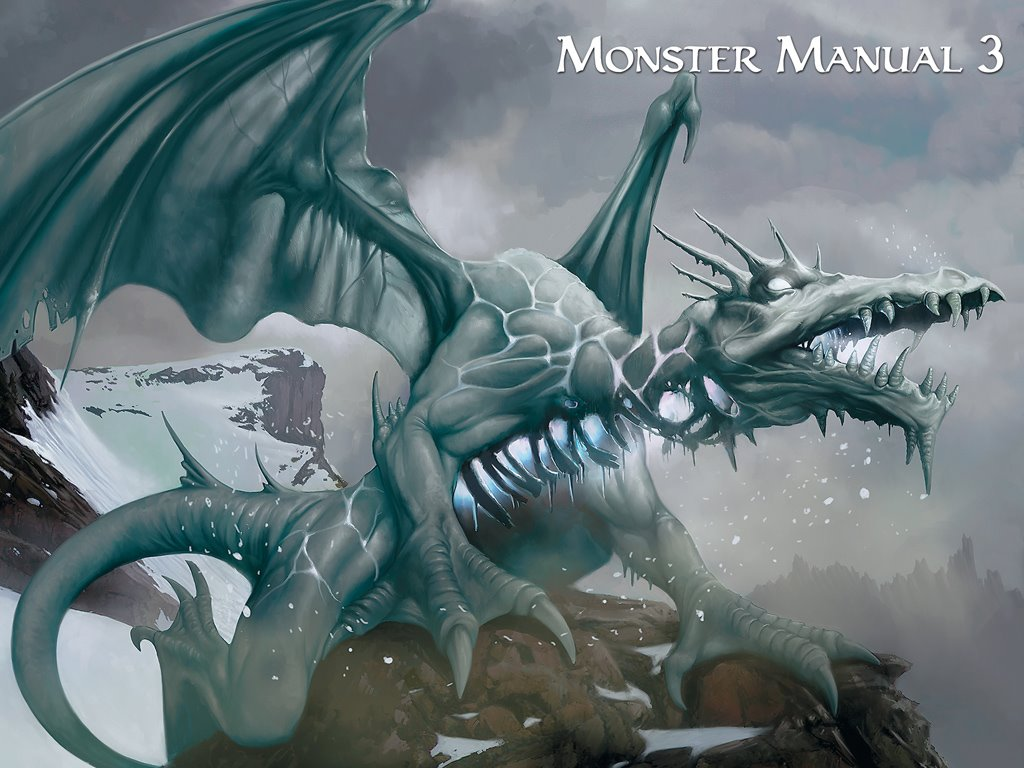 Fantasy Wallpaper: Blizzard Dragon
