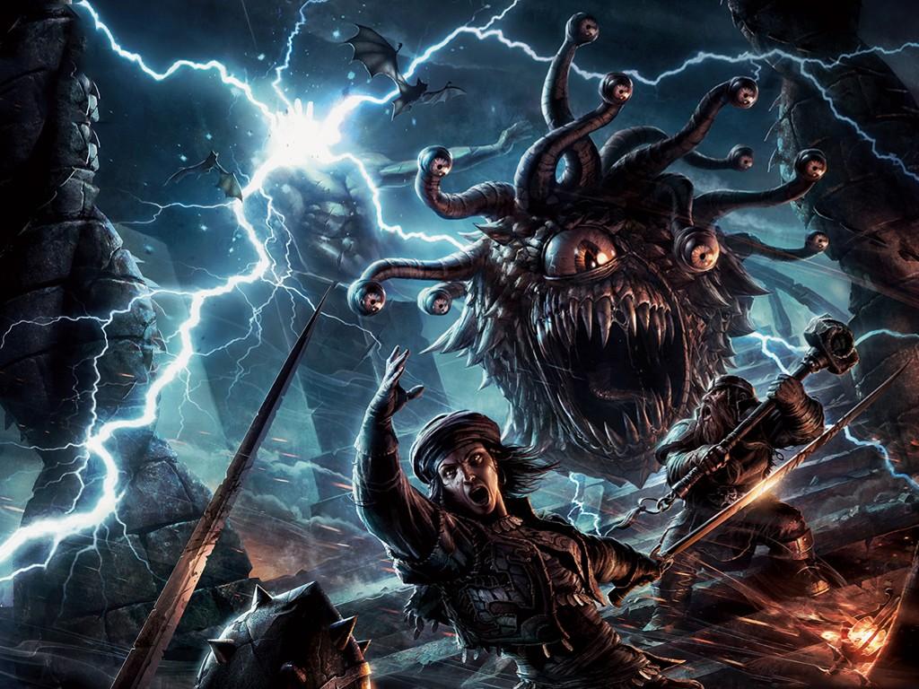 Fantasy Wallpaper: Beholder