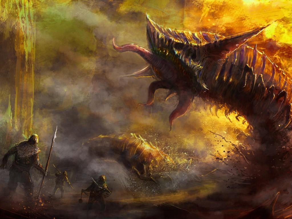 Fantasy Wallpaper: Monster