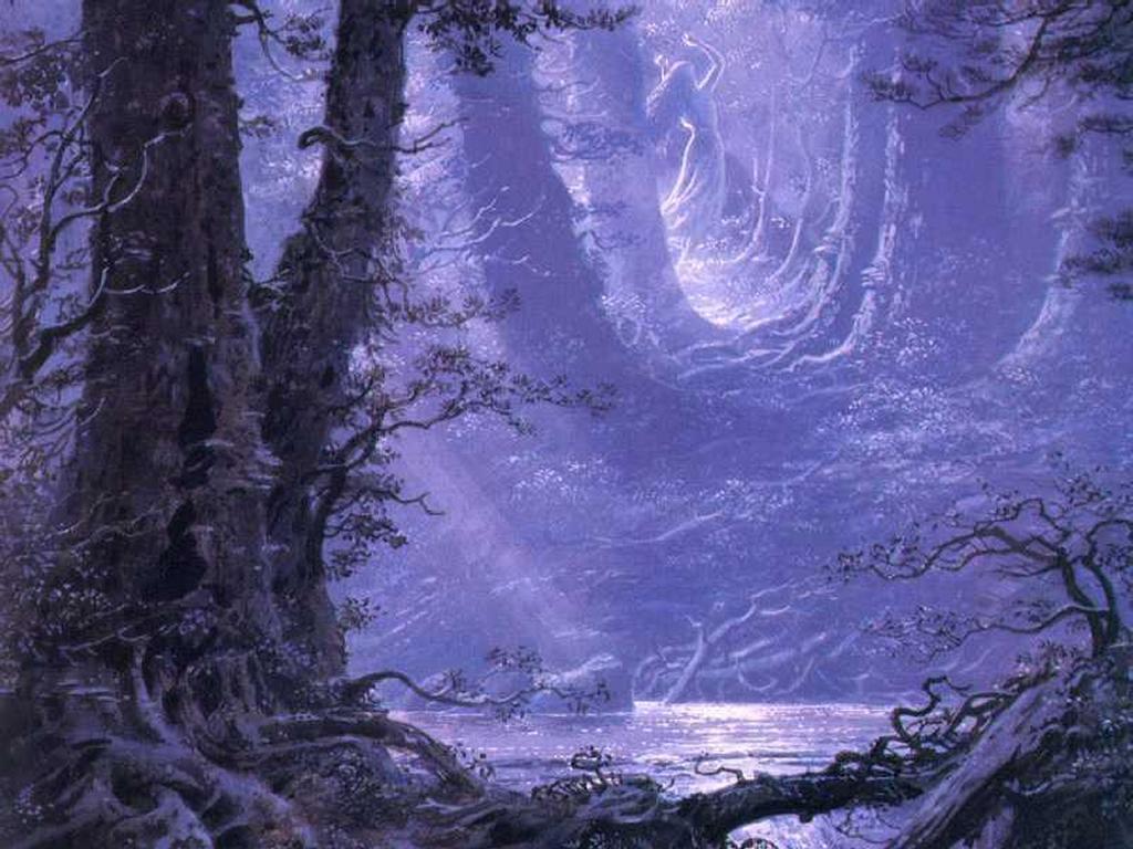 Fantasy Wallpaper: Moonlight