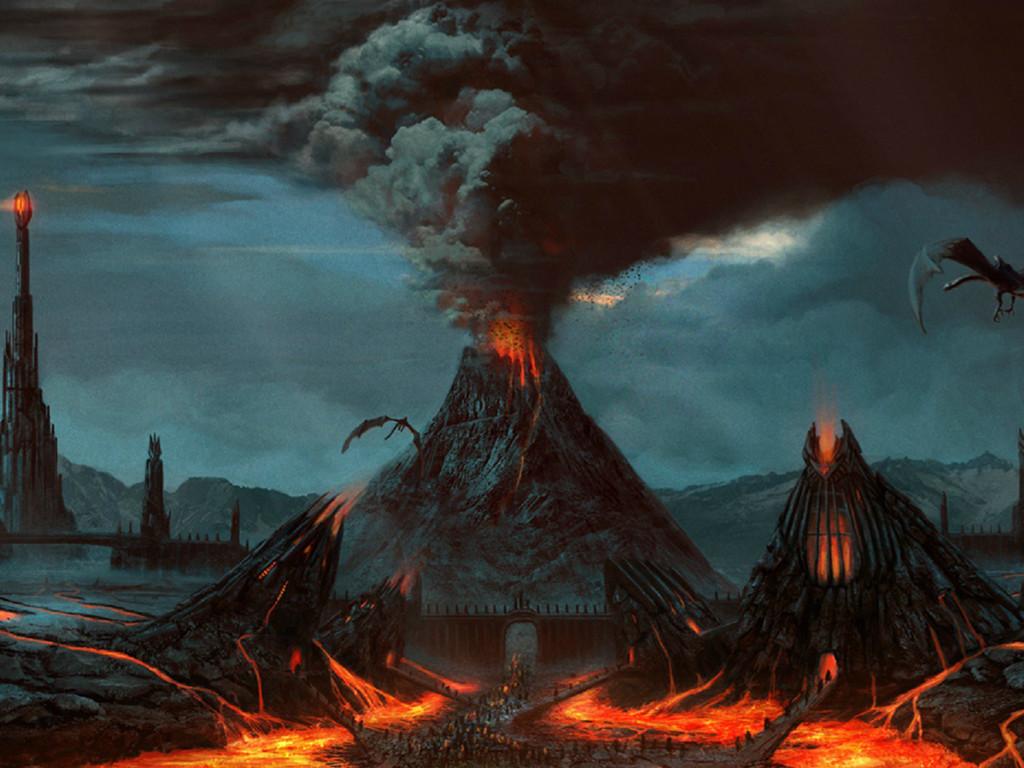 Fantasy Wallpaper: Mordor