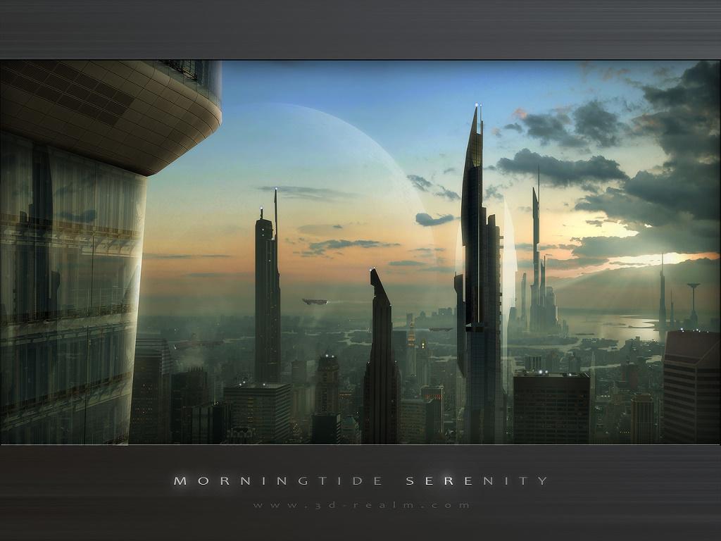 Fantasy Wallpaper: Morningtide Serenity