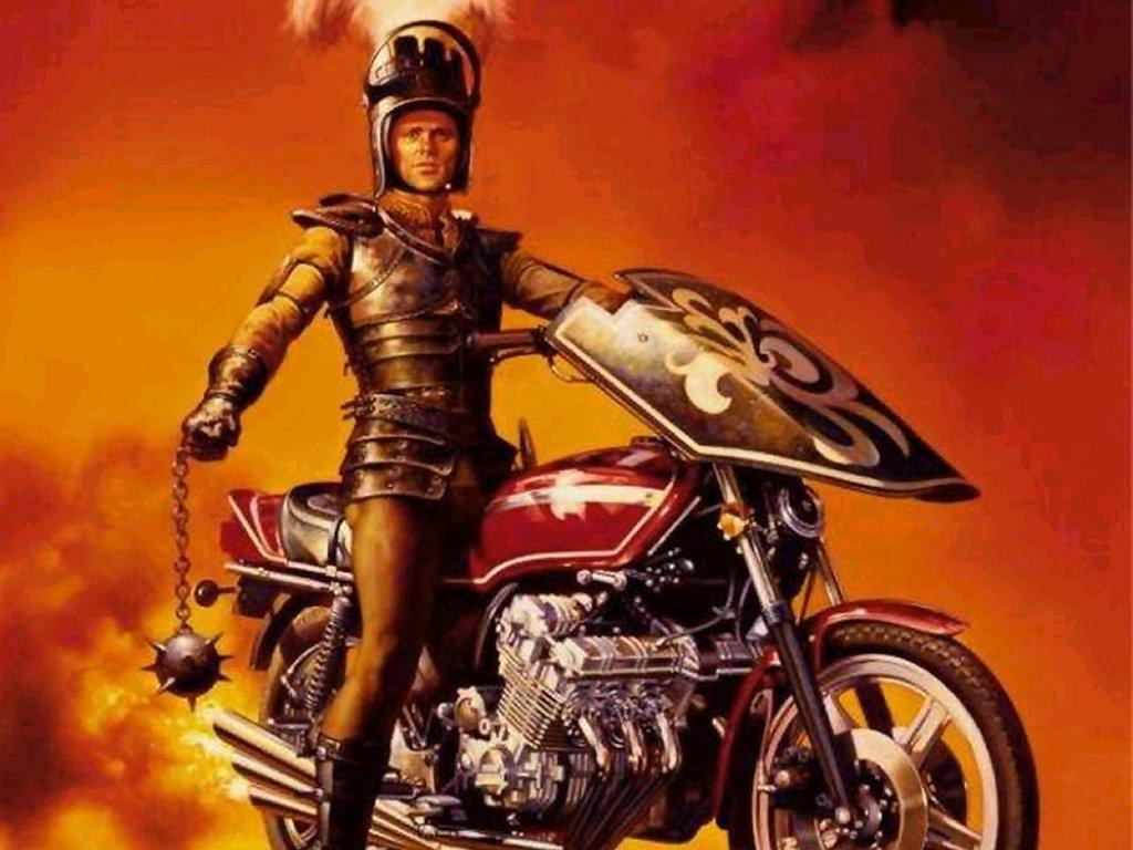Fantasy Wallpaper: Motor Warrior