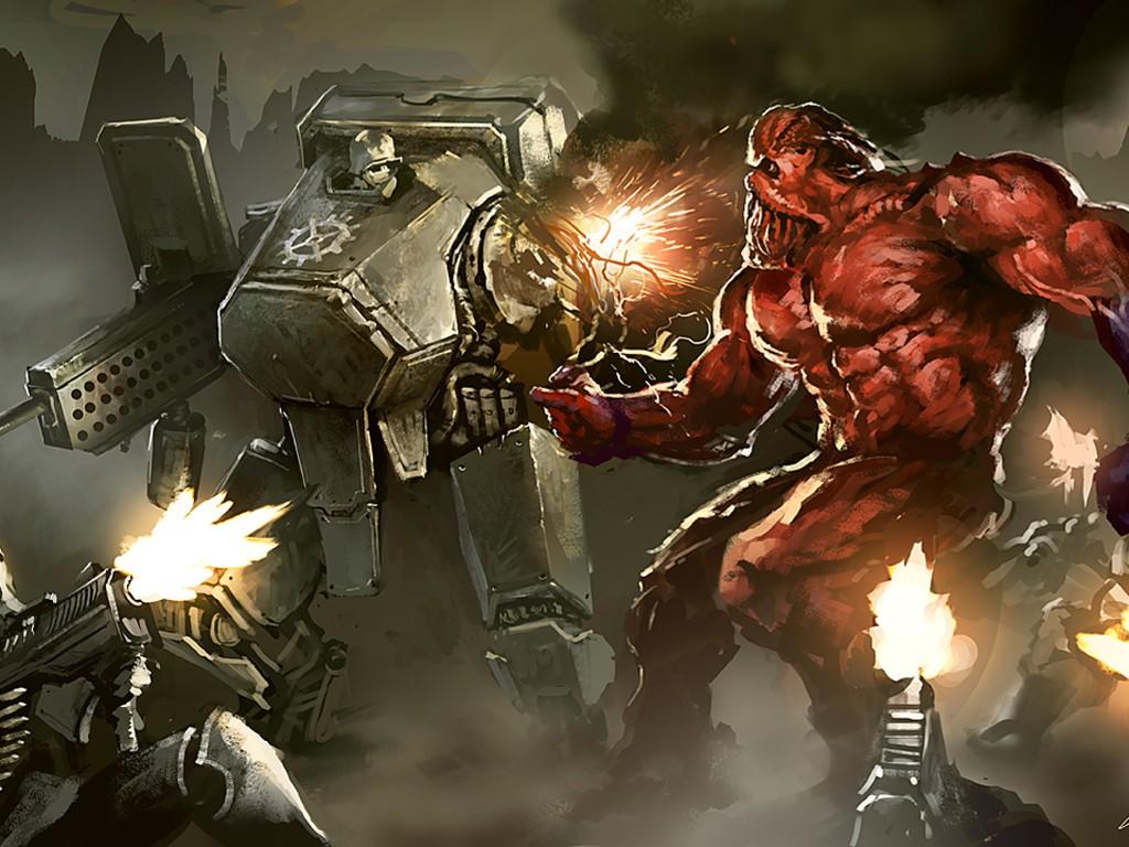 Fantasy Wallpaper: Mutant Chronicles