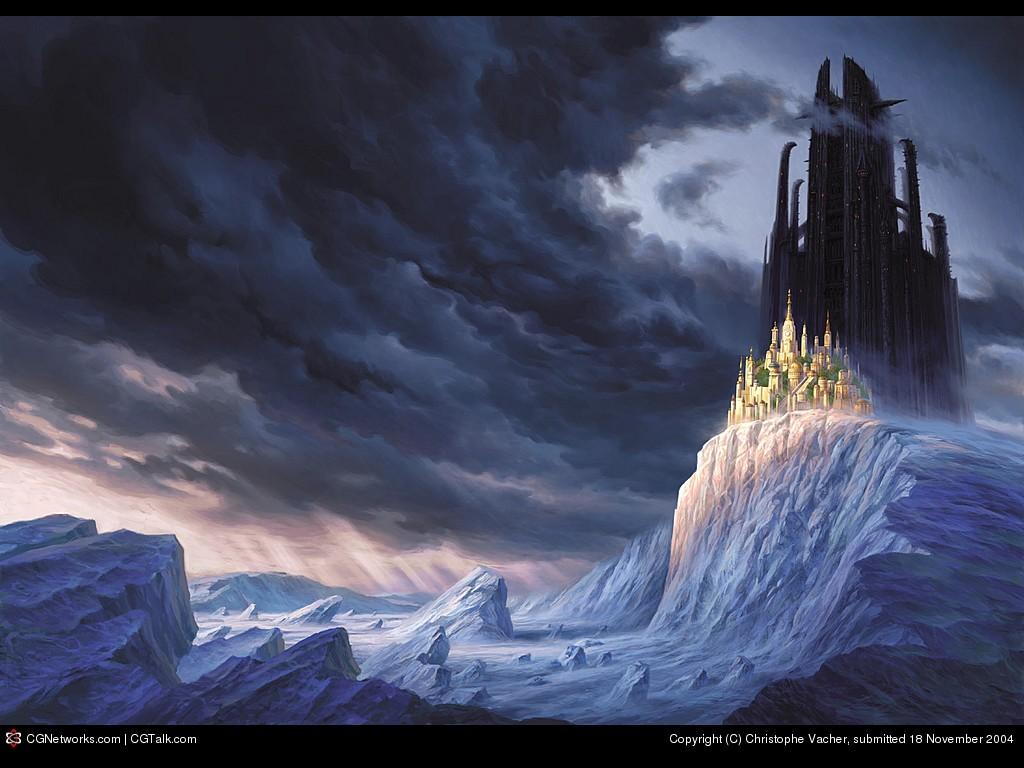 Fantasy Wallpaper: Mystic Castles