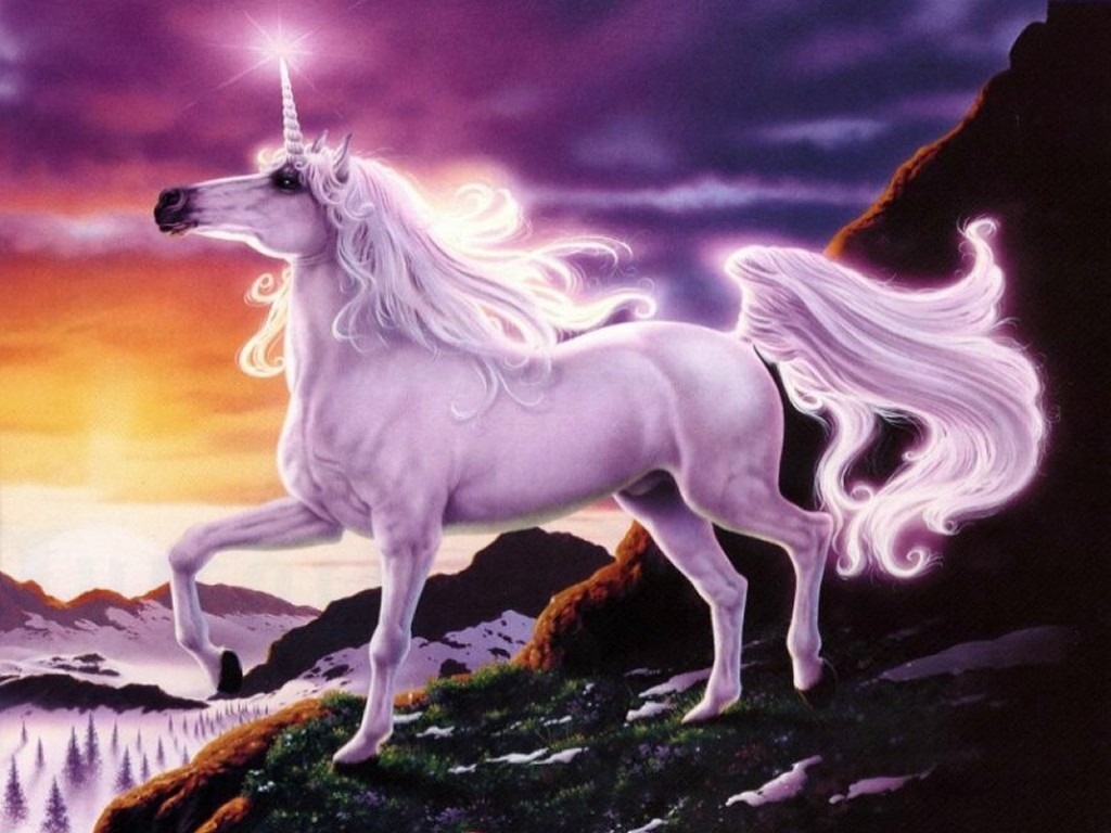 Fantasy Wallpaper: Mystic Unicorn