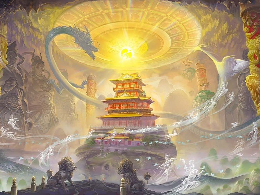 Fantasy Wallpaper: Mystical East