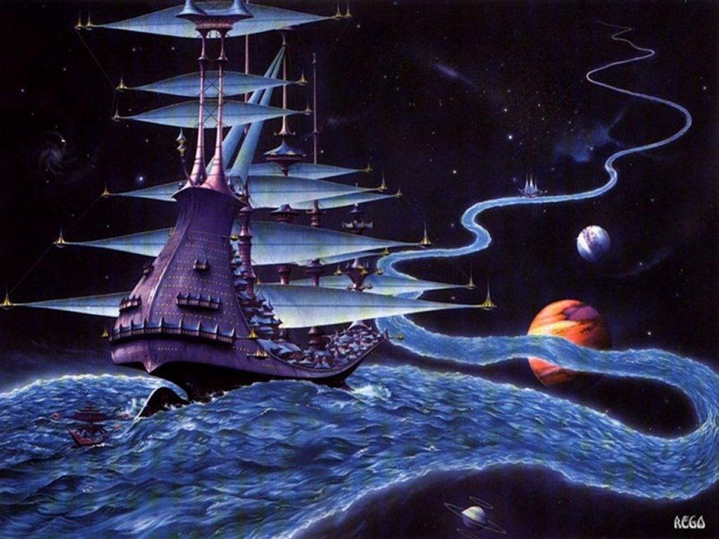 Fantasy Wallpaper: Navigating the Galaxy Stream