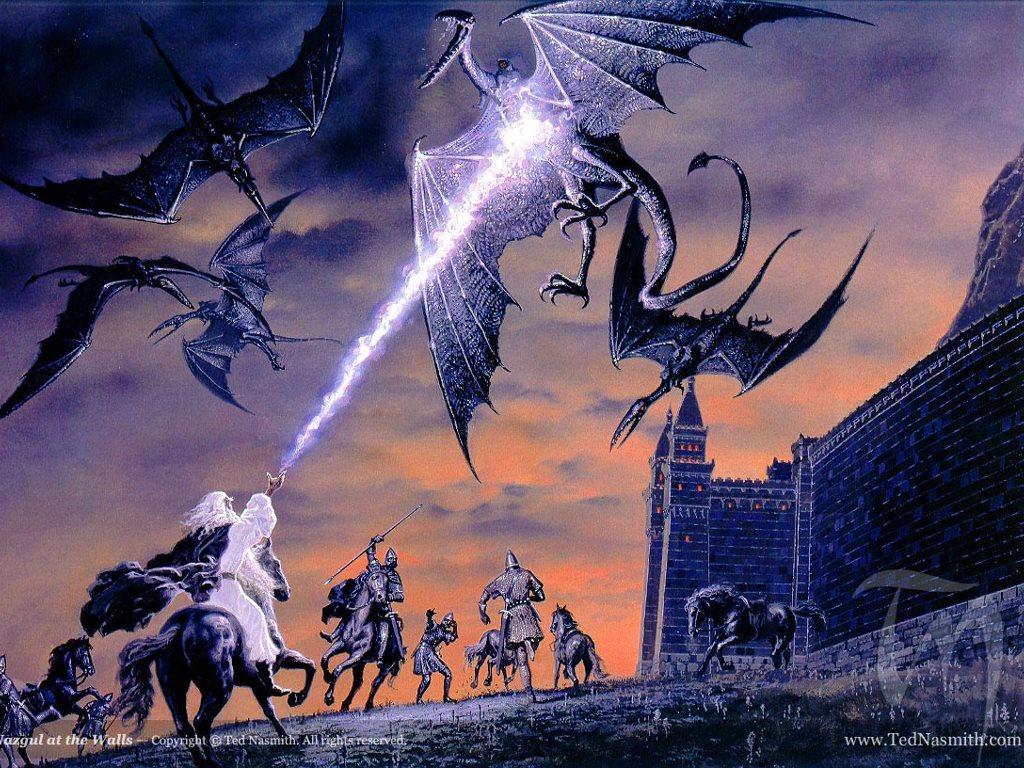 Fantasy Wallpaper: Nazgul