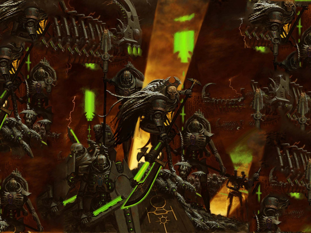 Fantasy Wallpaper: Necrons