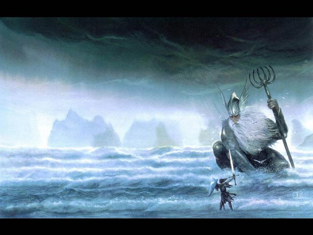 Fantasy Wallpaper: Ulmo (from Silmarillion)