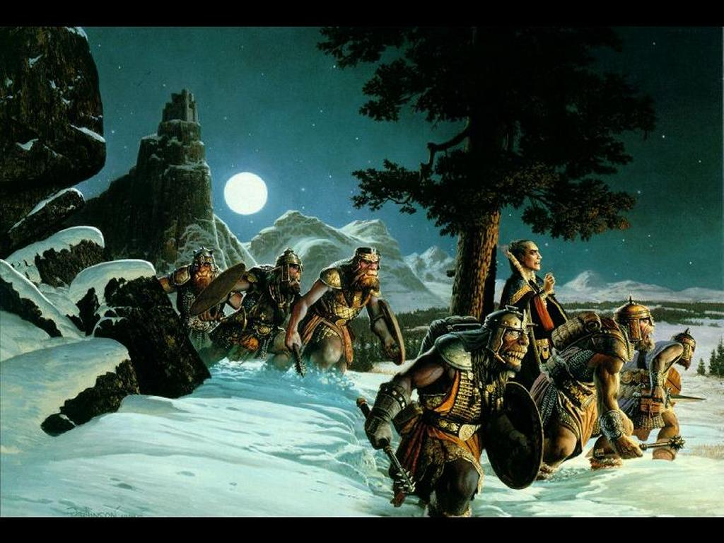 Fantasy Wallpaper: Night Army