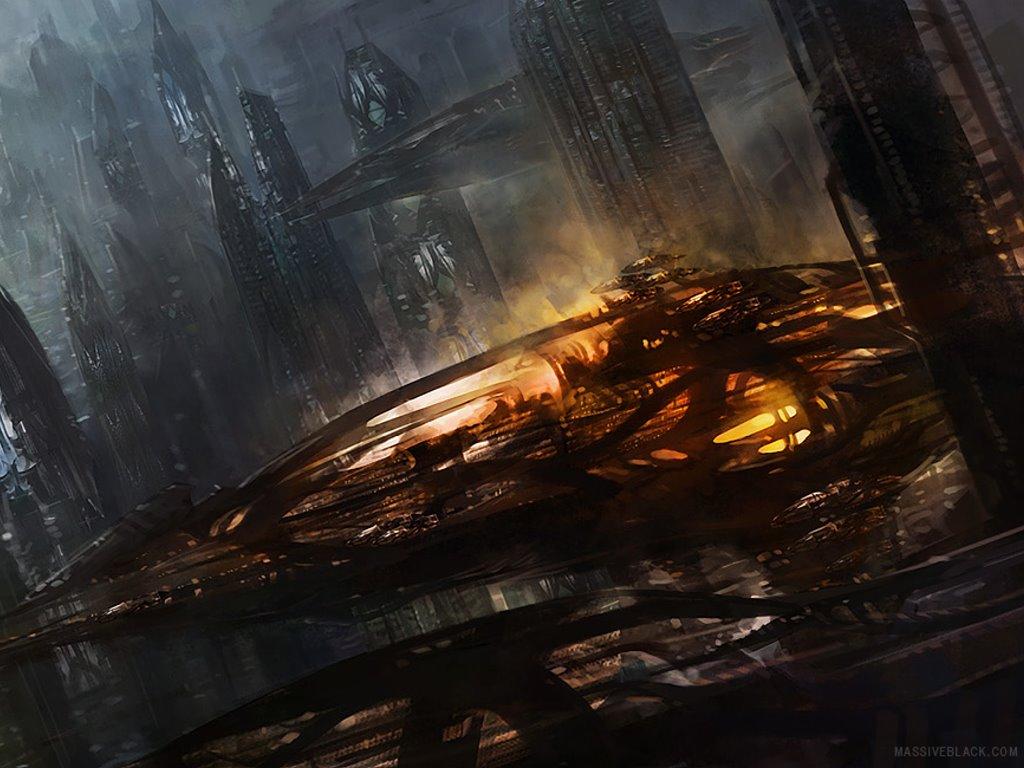 Fantasy Wallpaper: Night City