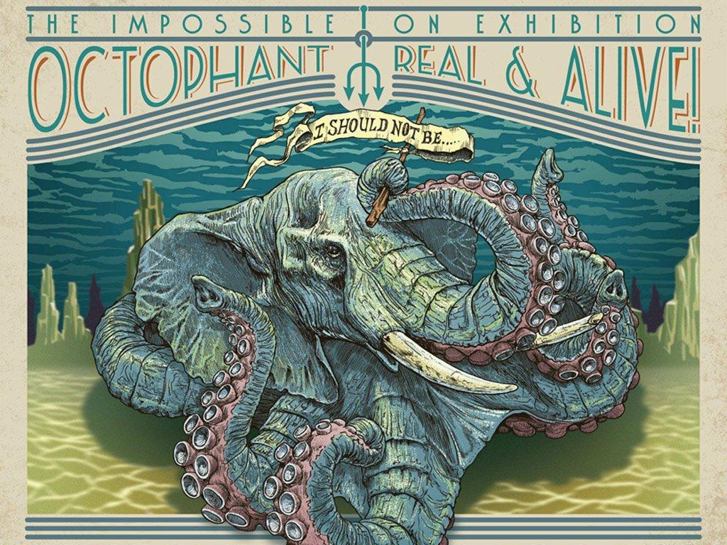 Fantasy Wallpaper: Octophant
