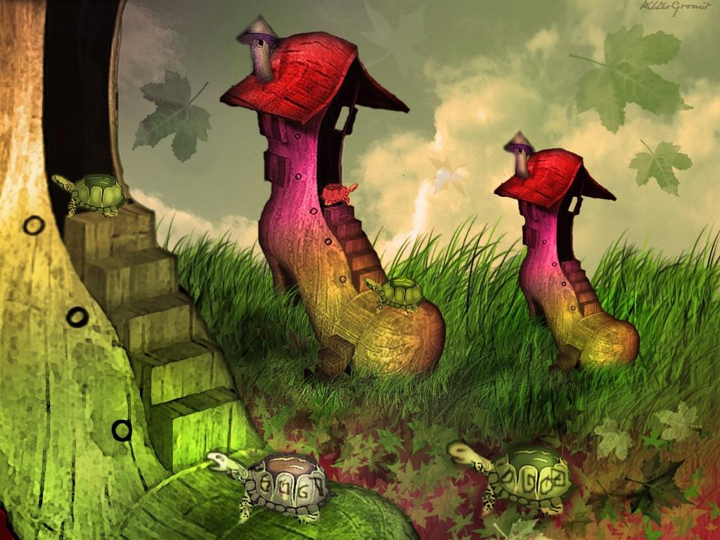 Fantasy Wallpaper: Oddland
