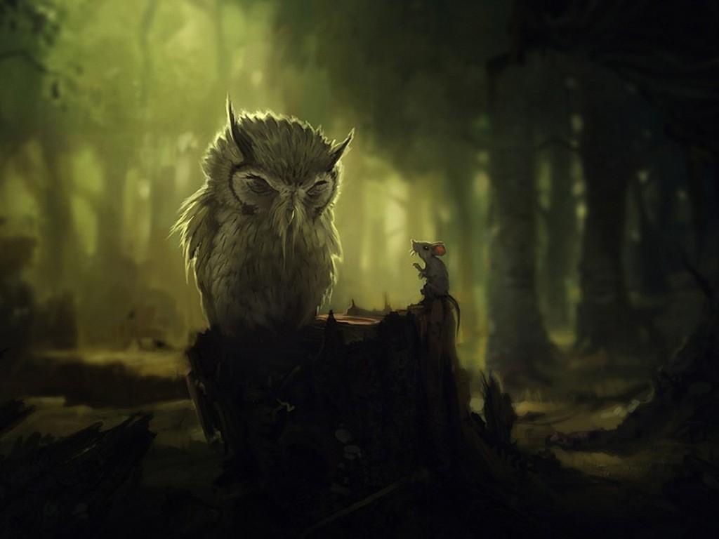 Fantasy Wallpaper: Old Sage