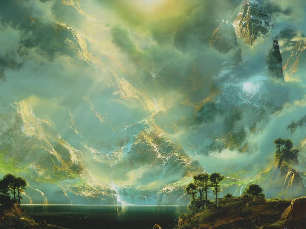 Fantasy Wallpaper: Olympus