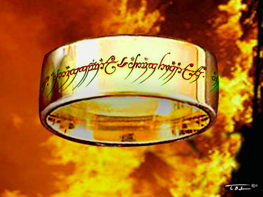 Fantasy Wallpaper: One Ring