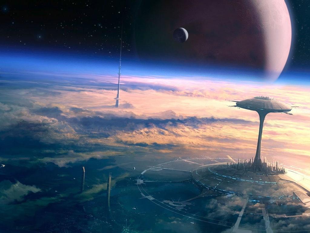 Fantasy Wallpaper: Orbital Sight