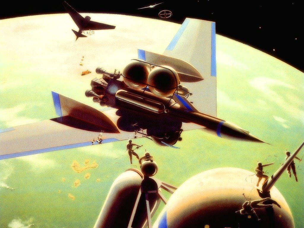 Fantasy Wallpaper: Orbital Station