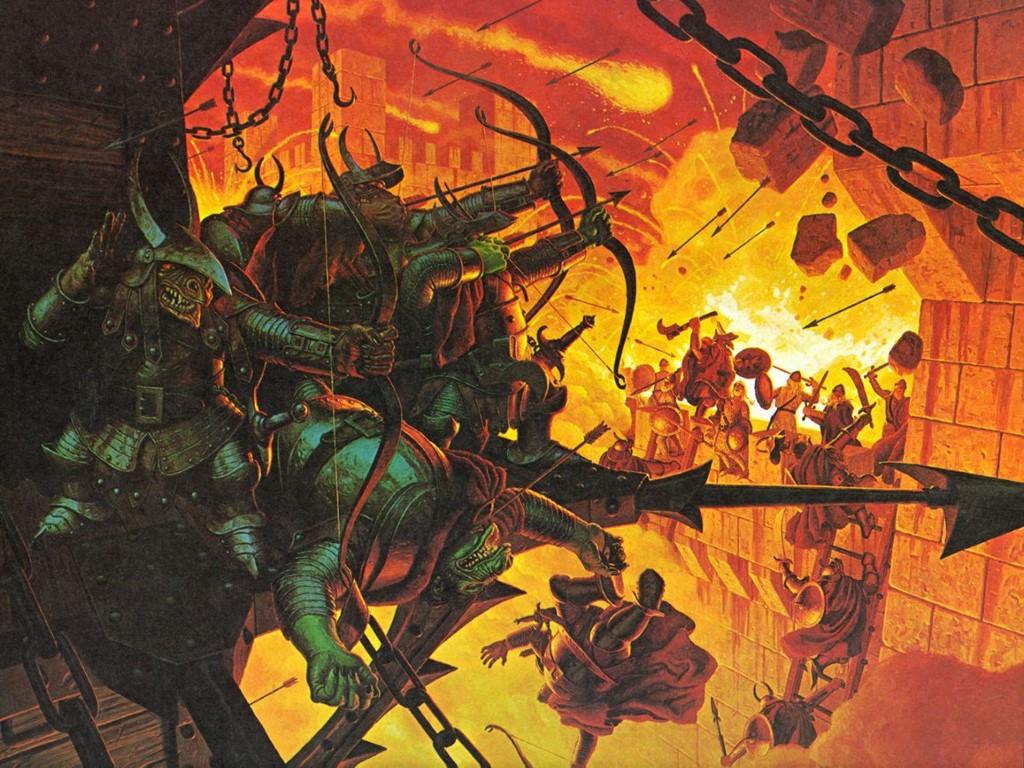 Fantasy Wallpaper: Orcs